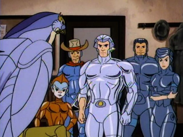 Wings of Silver, Nerves of Steel. SilverHawks!!!